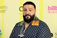 """<p>The """"Wild Thoughts"""" rapper said he used to imagine the worst after a frightening plane ride in the early 2000s, <a href=""""https://www.forbes.com/sites/zackomalleygreenburg/2019/09/19/how-dj-khaled-overcame-his-fear-of-flying-and-earned-67-million-in-two-years/?sh=bcd3435215ef"""" rel=""""nofollow noopener"""" target=""""_blank"""" data-ylk=""""slk:Forbes"""" class=""""link rapid-noclick-resp""""><em>Forbes</em></a> reported. In fact, the particular flight was so traumatizing that he traveled on tour exclusively by bus for a decade.</p> <p>However, a few years after his son Asahd was born in 2016, the new dad was inspired to <a href=""""https://people.com/parents/dj-khaled-flies-first-time-10-years-son/"""" rel=""""nofollow noopener"""" target=""""_blank"""" data-ylk=""""slk:face his fears"""" class=""""link rapid-noclick-resp"""">face his fears</a> once and for all.</p> <p>""""I kept saying, 'My son goes on a plane. Why am I not on a plane?' """" the rapper told the outlet in 2019 of deciding to fly again. """"So immediately I became fearless.""""</p>"""