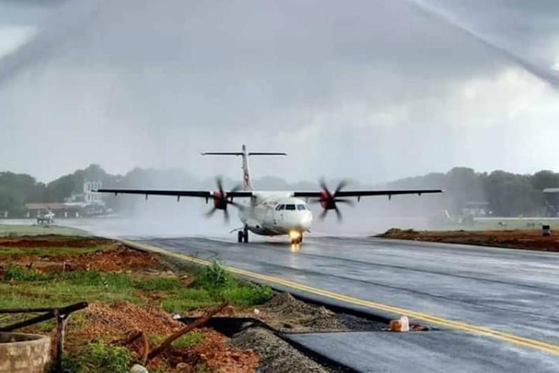 New Airport Connects Chennai and Jaffna After 40 Years as Air India Flight Makes First Landing