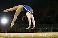 """<p>If a team believes a score is unfair, <a href=""""https://www.news.com.au/sport/olympics/some-olympic-rules-are-just-plain-bizarre/news-story/cd1bfbe954010e571548929f289f232c"""" rel=""""nofollow noopener"""" target=""""_blank"""" data-ylk=""""slk:gymnasts"""" class=""""link rapid-noclick-resp"""">gymnasts</a> have to pay $300 to have it re-evaluated. If the challenge overturns scoring, the team gets their money back. If it's not, the cash goes to charity. </p>"""