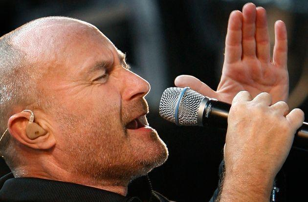 Phil Collins of Genesis performs during an outdoor concert to kick off the bands first North American tour in 15 years in Toronto, September 7, 2007.     REUTERS/ Mike Cassese   (CANADA) (Photo: Mike Cassese via Reuters)