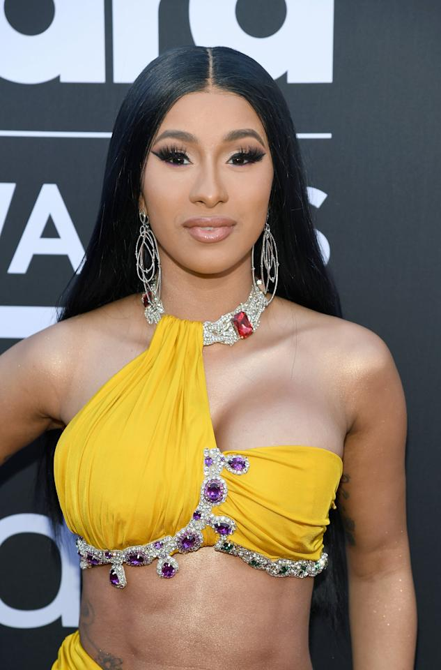 Cardi B Gets A Huge New Back Tattoo: Cardi B Won Big And Showed Off Her Rock-Hard Abs At The