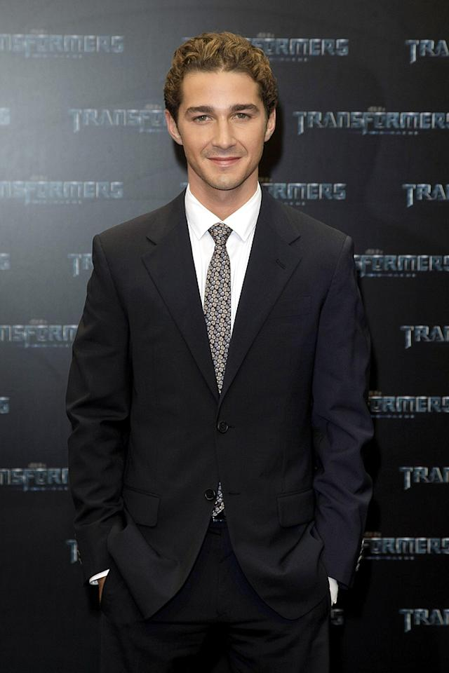 """<a href=""""http://movies.yahoo.com/movie/contributor/1804503925"""">Shia LaBeouf</a> at the Berlin premiere of <a href=""""http://movies.yahoo.com/movie/1809943432/info"""">Transformers: Revenge of the Fallen</a> - 06/14/2009"""
