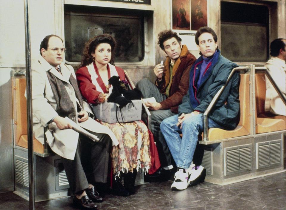 """<p>The sitcom became known as """"the show about nothing,"""" which is exactly what Seinfeld and David pictured when they first pitched it to the network. </p>"""