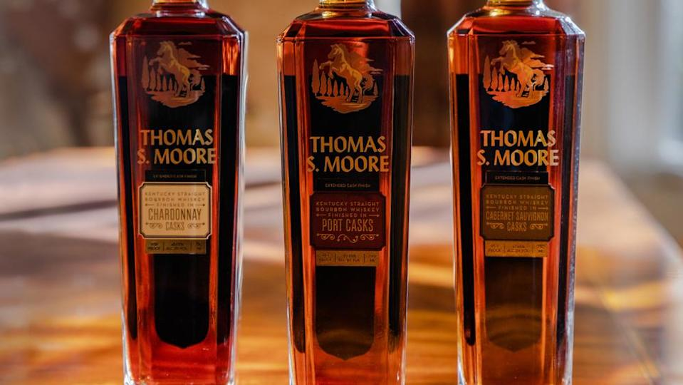 Thomas S. Moore Kentucky Straight Bourbon Whiskey Finished in Port Casks