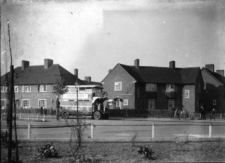 The estate was built 100 years agoBarking and Dagenham Council