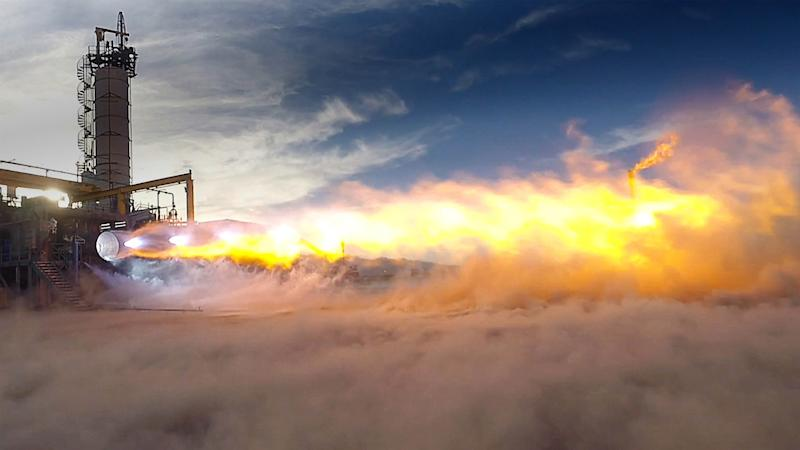 BlueOrigin_BE4_hotfire