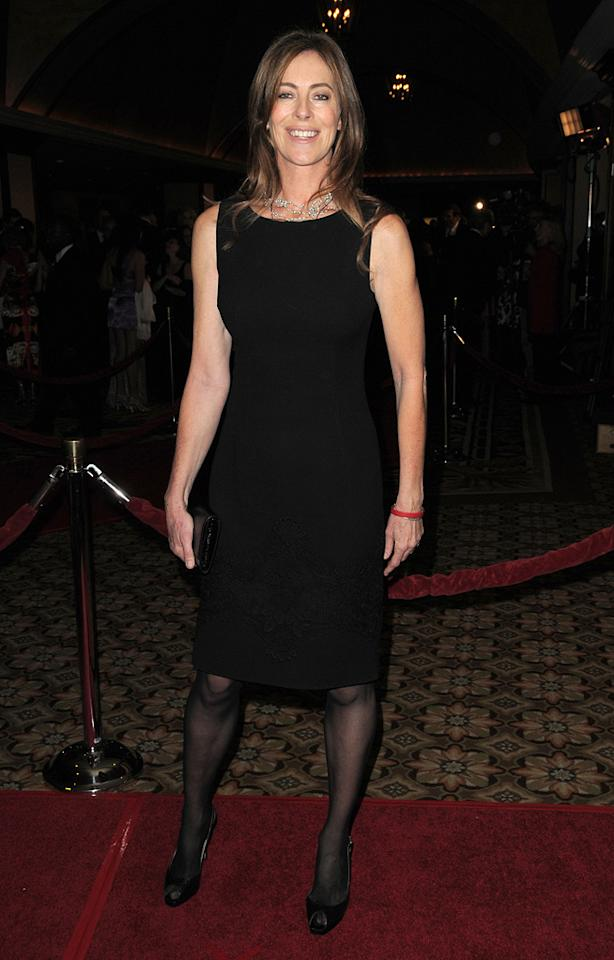 """<a href=""""http://movies.yahoo.com/movie/contributor/1800091098"""">Kathryn Bigelow</a> at the 62nd Annual Directors Guild of America Awards in Century City, California on January 30, 2010."""
