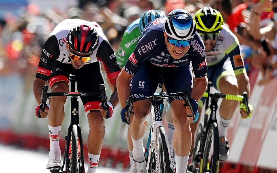 Jasper Philipsen - all the latest news and results from the 2021 Vuelta a España - GETTY IMAGES