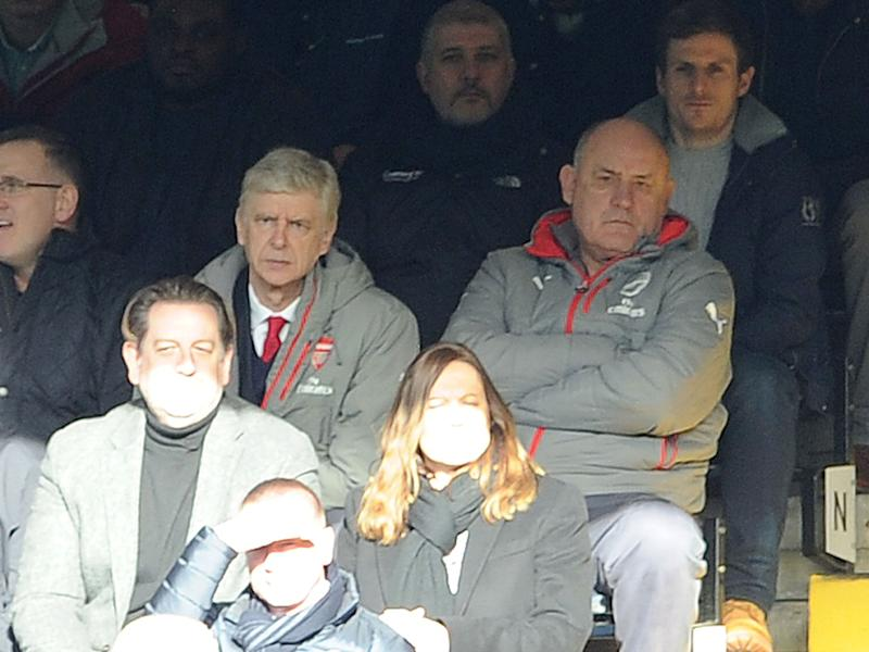 Arsene Wenger has worked with Boro Primorac since 1994: Getty