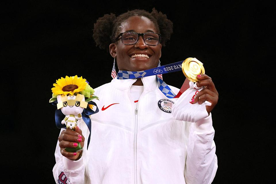"""<p>Biography: 28 years old</p> <p>Event: Women's 68 kg. wrestling</p> <p>Quote: """"I knew I could do it. I knew it would be hard. I prayed I could do it. In my wildest dreams I knew.""""</p>"""