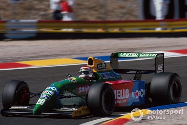 "1990 - Benetton B190 <span class=""copyright"">Sutton Motorsport Images</span>"