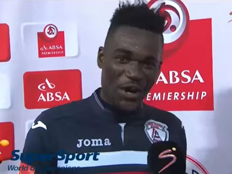Mohammed Anas made the slip of the tongue after scoring a brace for the Free State Stars: SuperSport