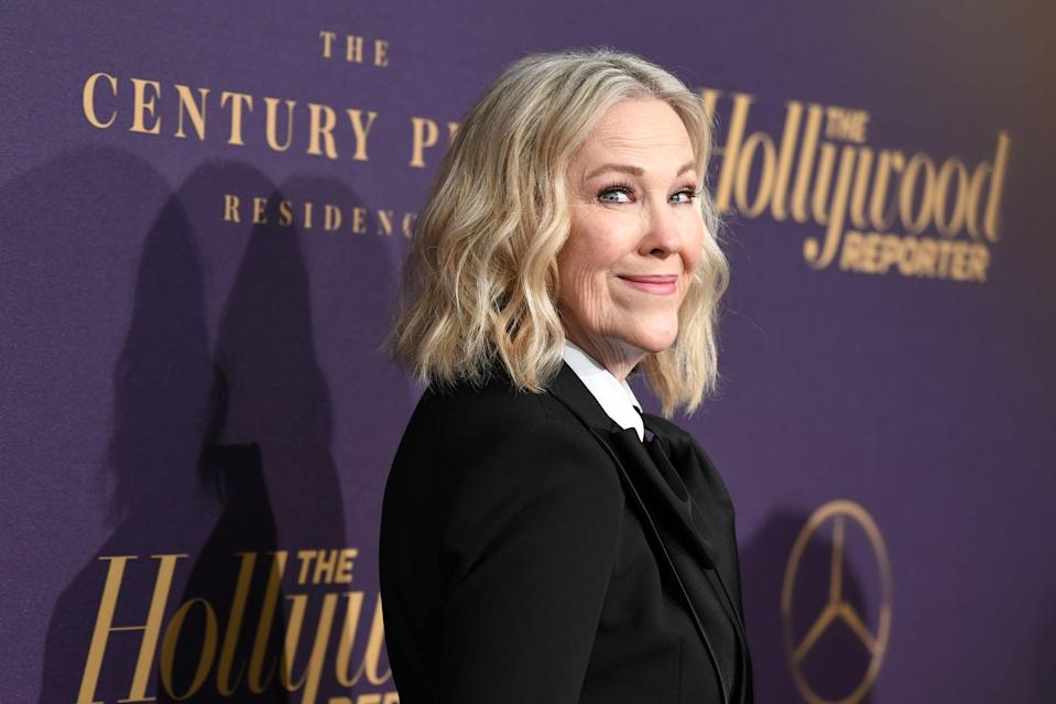 BEVERLY HILLS, CALIFORNIA - FEBRUARY 04: Catherine O'Hara attends The Hollywood Reporter 2019 Oscar Nominee Party at CUT on February 04, 2019 in Beverly Hills, California. (Photo by Amy Sussman/Getty Images)