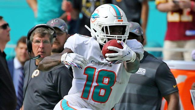 Despite fumble Sunday, Preston Williams gives Miami plenty of reason for excitement