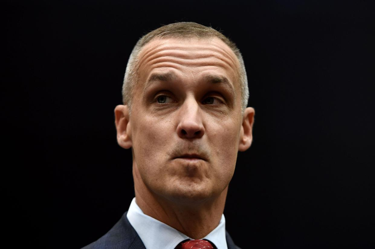 Corey Lewandowski testifies before the House Judiciary Committee on Tuesday. (Photo: Olivier Douliery/AFP/Getty Images)