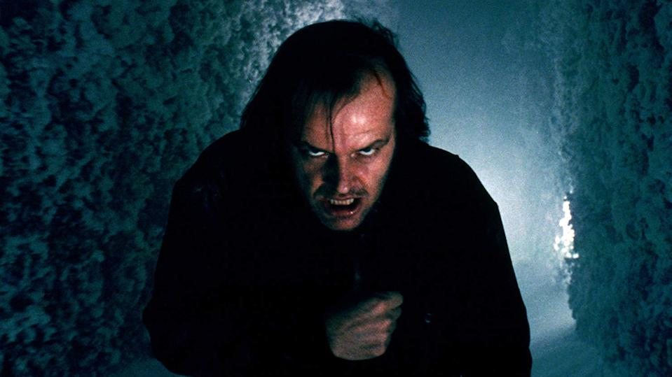 Jack Nicholson portrayed Jack Torrance in Stanley Kubrick's 1980 adaptation of 'The Shining'. (Credit: Warner Bros)