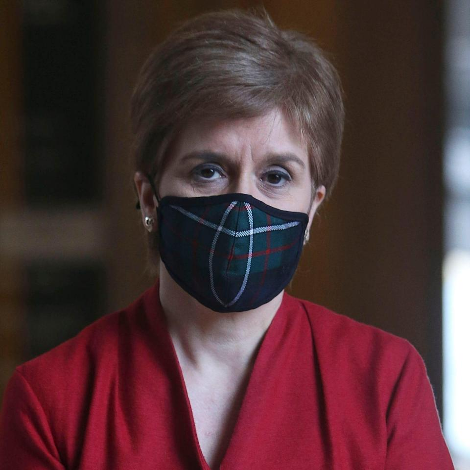 Nicola Sturgeon went further than the rest of the UK - Pool/Getty