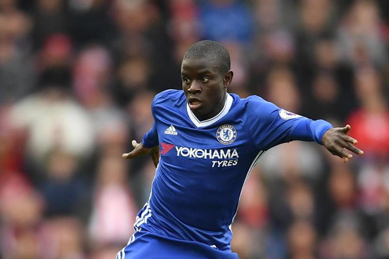 Kante has been Chelsea's star player this season: Getty Images