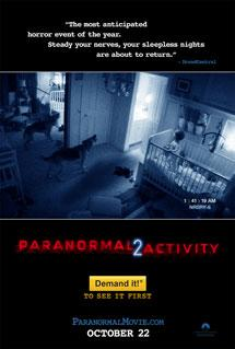 'Paranormal Activity 2' Poster Paramount Pictures