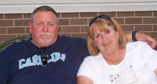 Johnny Lee Peoples, 67, and his wife Darlene, 65, are pictured.