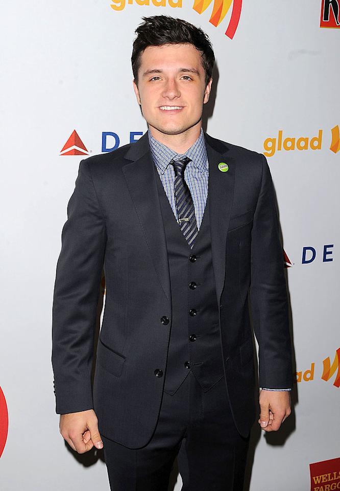 "<p class=""MsoNormal"" style=""""><span style="""">After starring in blockbuster ""The Hunger Games,"" actor Josh Hutcherson is probably used to the red carpet by now! GLAAD honored Hutcherson with the Van Guard Award for increasing the visibility and understanding of people in the LGBT community, particularly through his work with the ""Straight But Not Narrow"" campaign that encourages acceptance. </span></p>"