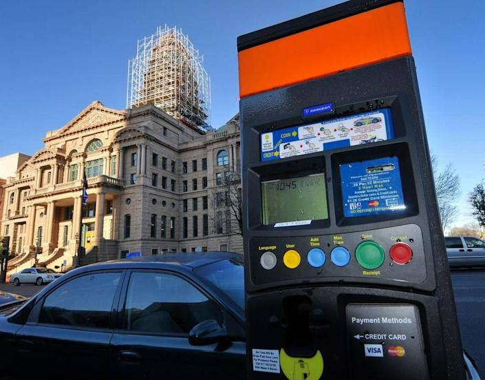 Drivers who park in downtown Fort Worth can feed their meters via mobile phone with the FW Park app.
