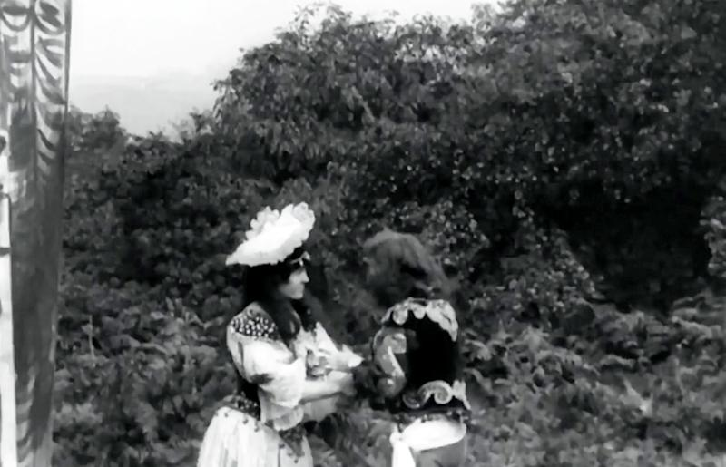 'Kidnapping by Indians'' was filmed in 1899 - four years before The Great Train Robbery which until now was widely seen as the genre's first film, research has revealed (Picture: SWNS)