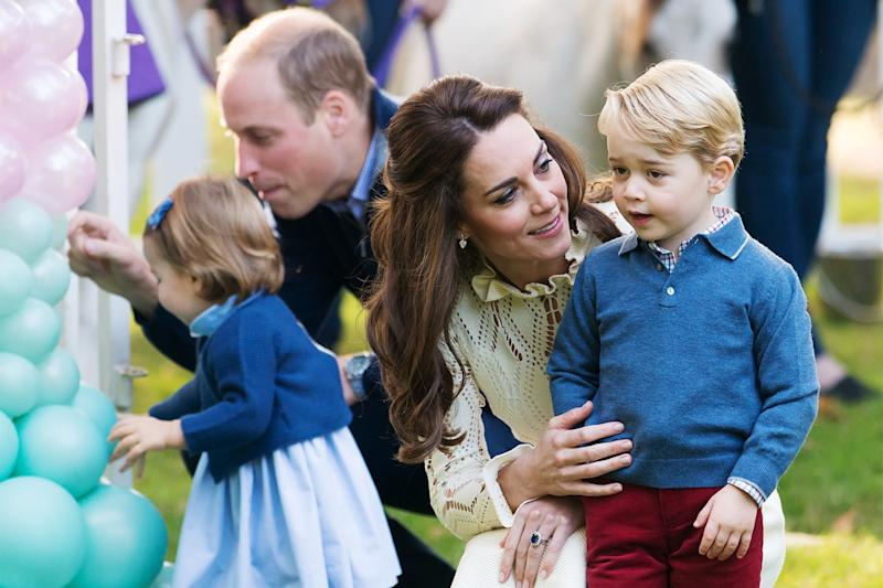 "Kate Middleton Says She Sometimes ""Lacks Confidence"" as a Mother"