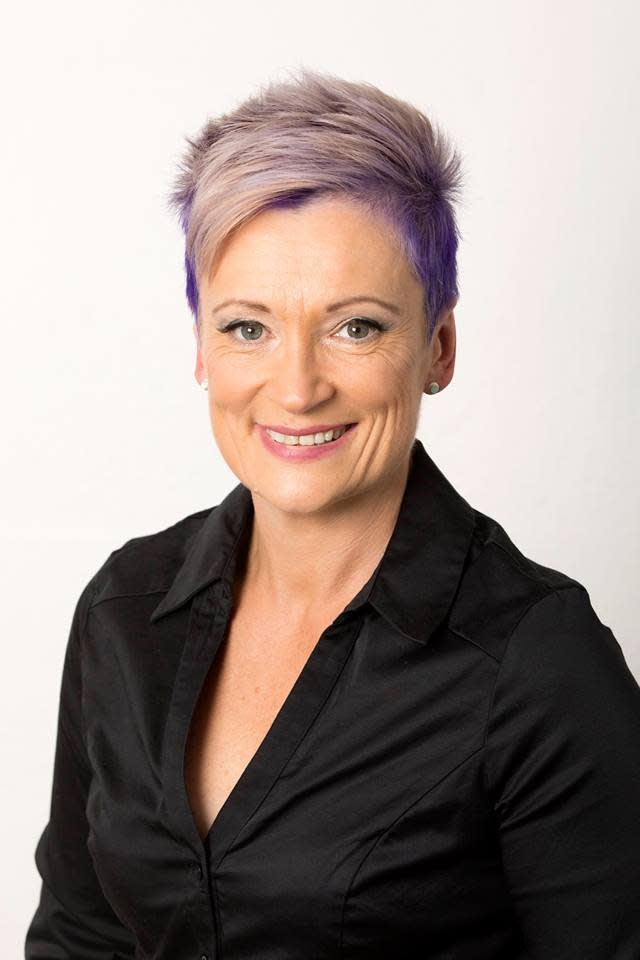 A headshot of Michelle Davis, who established the ROADwhyz program after her sons Brendon and Mathew Gilson died in a car crash.