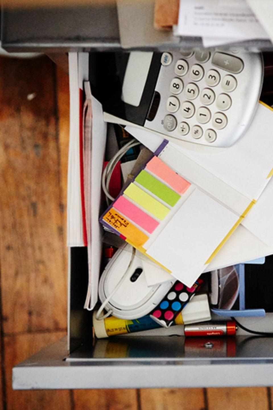 "<p>Even if you work from home, you'll never go through 20 Post-it note pads. Donate them to a non-profit or charitable organization. Still have a ton left? Here's how to use office supplies to <a href=""https://www.goodhousekeeping.com/home/organizing/g2843/office-supplies-home-organizers/"" rel=""nofollow noopener"" target=""_blank"" data-ylk=""slk:help organize your home"" class=""link rapid-noclick-resp"">help organize your home</a>. </p>"
