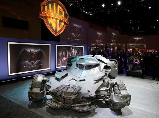 The Batmobile from <em>Batman v Superman</em> (Photo: Warner Bros.)