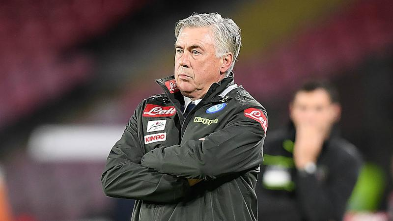 Ancelotti: Napoli a******* if they don't reach Champions League knockout rounds