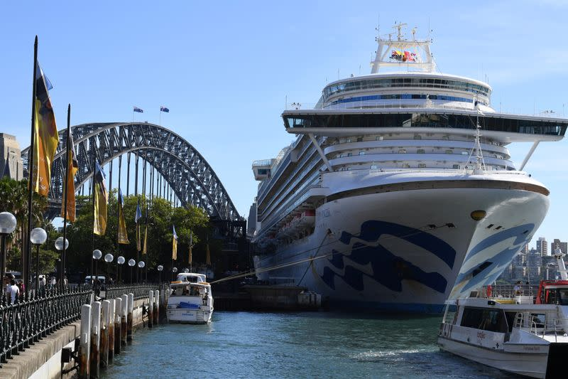 Australia cruise ship evictions tread coronavirus diplomacy tightrope