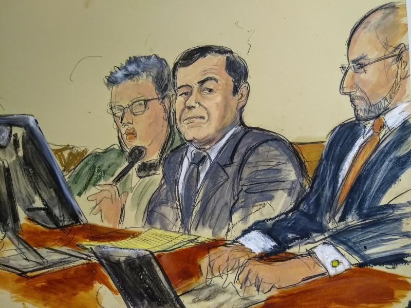 Witness claims El Chapo had sex with minors: court papers