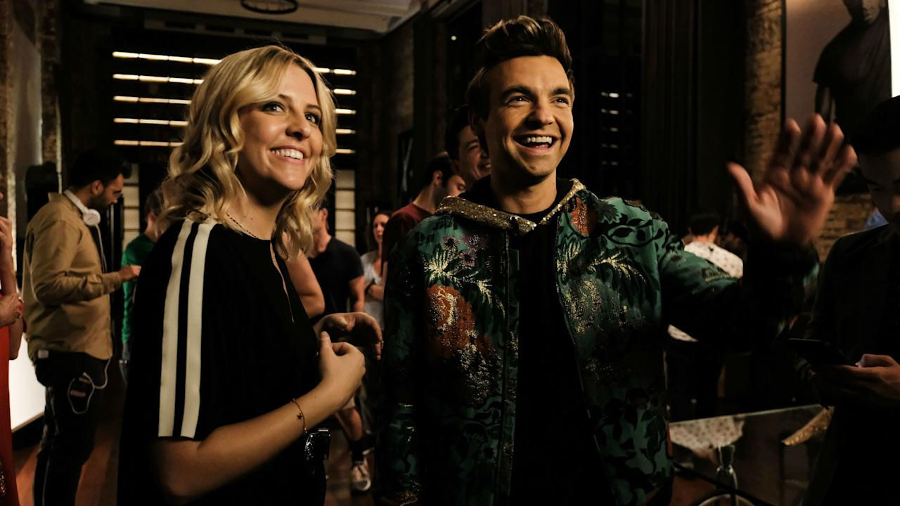 """Former <em>Saturday Night Live</em> head writers <strong>Chris Kelly</strong> and <strong>Sarah Schneider</strong>'s solo venture was a breakout with critics earlier this year. The series follows two undistinguished 20-somethings, Cary (<strong>Drew Tarver</strong>) and Brooke (<strong>Heléne Yorke</strong>), as they try to contend with their tween brother's meteoric rise to fame. Both Cary and Brooke have showbiz dreams of their own, but rather than go the sardonic route, this comedy allows both siblings to support their brother, Chase, even as his fame pushes their family into some dark, difficult, and at times ridiculous territory. The show's sharp humor and keen understanding of the entertainment industry is matched only by its <a href=""""https://www.vanityfair.com/hollywood/2019/01/the-other-two-comedy-central-chris-kelly-sarah-schneider-interview?mbid=synd_yahoo_rss"""">sweetness</a>—and <strong>Molly Shannon</strong>'s performance as the family matriarch, Pat, is reason enough to watch."""