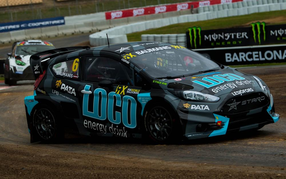 BARCELONA, SPAIN - APRIL 01: Janis Baumanis of Latvia driving the Ford Fiesta RXS Supercar Stard Team during the FIA World Rallycross Championship at Circuir de Catalunya on April 1, 2017 in Barcelona, Spain. (Photo by David Ramos/Getty Images - Credit: David Ramos/Getty