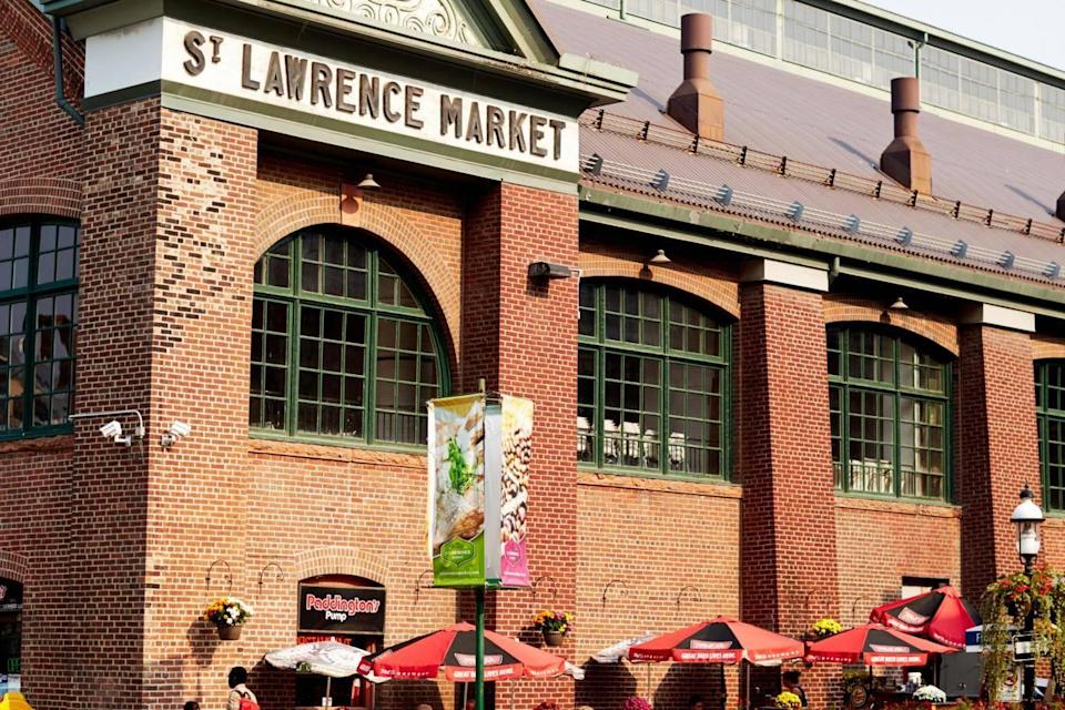 St Lawrence Market is a Toronto institution (Tourism Toronto)