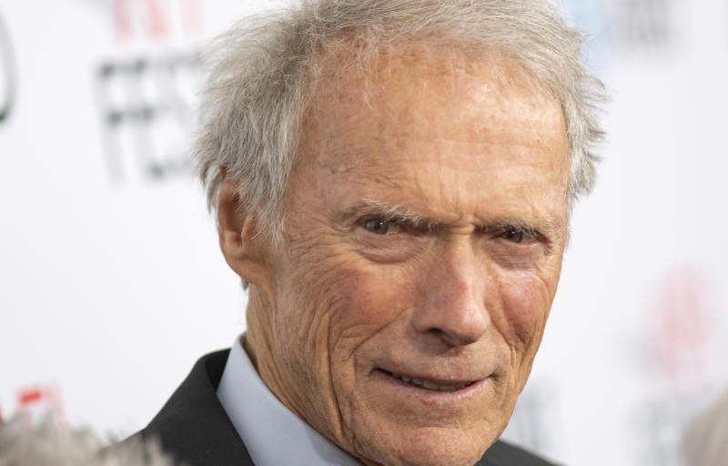 "(FILES) In this file photo director and actor Clint Eastwood attends the ""Richard Jewell"" world premiere gala screening during AFI FEST 2019 Presented By Audi at TCL Chinese Theatre, on November 20, 2019, in Hollywood, California. - Movie legend Clint Eastwood turns 90 on Sunday, but don't count on the famously stoic and hard-working star of ""A Fistful of Dollars"" and ""Dirty Harry"" hanging up his cowboy boots just yet. (Photo by VALERIE MACON / AFP) (Photo by VALERIE MACON/AFP via Getty Images)"