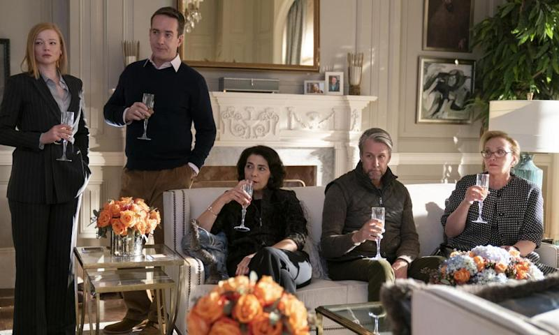 Money troubles ... a scene from Succession