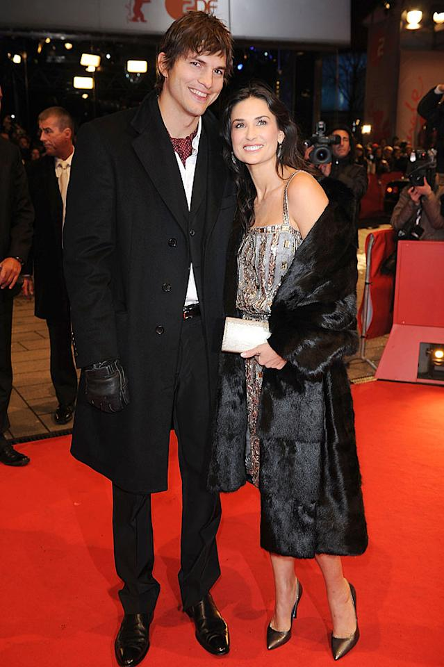 """Demi Moore and Ashton Kutcher were ranked as the no. 1 and 2 offenders in PETA's annual """"Worst Dressed"""" poll. The criticism didn't faze Moore, who donned a fur coat to the premiere of """"Happy Tears"""" in Berlin on Wednesday. Pascal Le Segretain/<a href=""""http://www.gettyimages.com/"""" target=""""new"""">GettyImages.com</a> - February 11, 2009"""