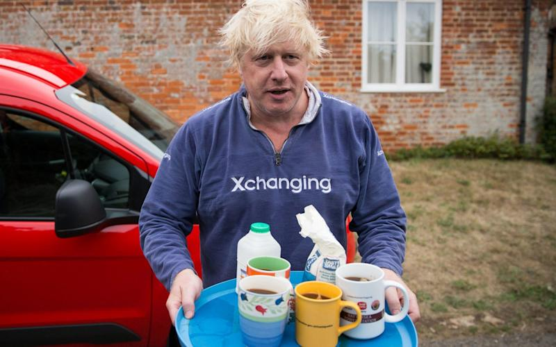 Brewing up with the aid of a tray of chipped crockery is the ultimate class teller. If you don't believe me, just ask Boris - PA