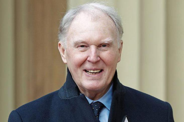 True gentleman: Tim Pigott-Smith, who died last week aged 70, got an OBE this year