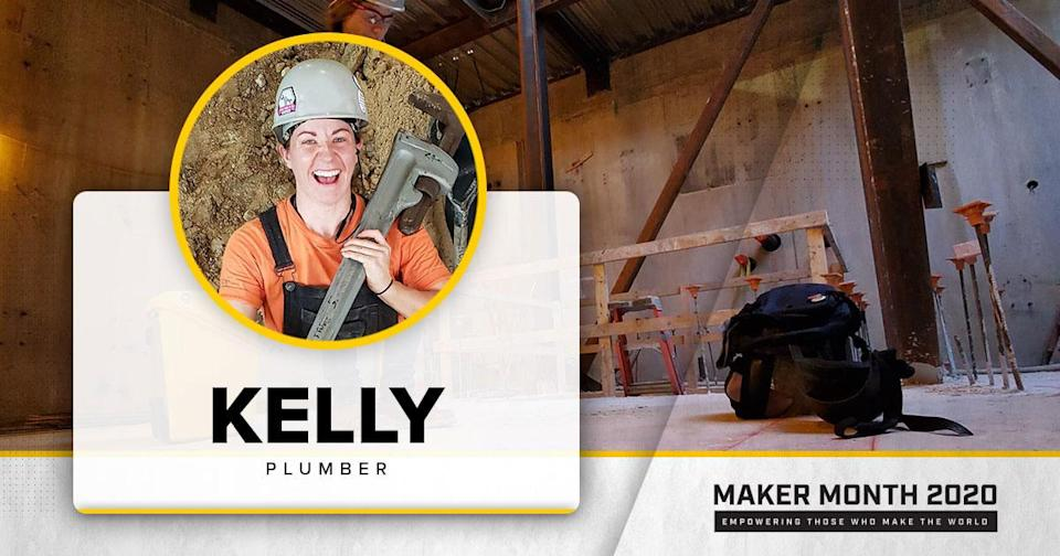 Meet Our 31 Makers: Kelly, Plumber