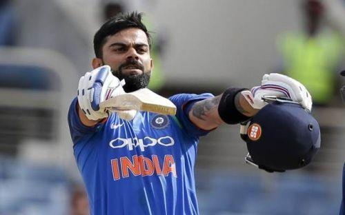 Kohli can join his batting idol if he manages to score a century today
