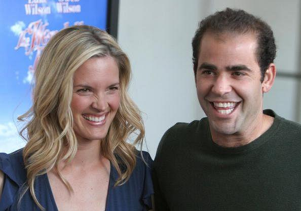 Pete Sampras and his wife Bridgette Wilson
