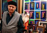 In his apartment in the upmarket district of Abdoun Madfai spends his time sketching, composing music, writing poetry and, of course, singing