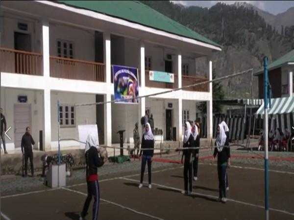 Indian Army organised Inter School Girls Volleyball Championship in Baramulla.