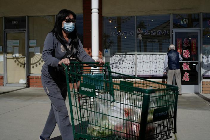 A grocery shopper in California may be more likely to worry and prepare than one on the East Coast.