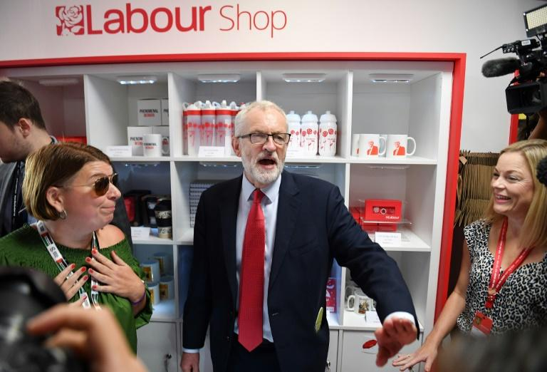 The result was a triumph for Britain's main opposition Labour Party leader Jeremy Corbyn (AFP Photo/DANIEL LEAL-OLIVAS)