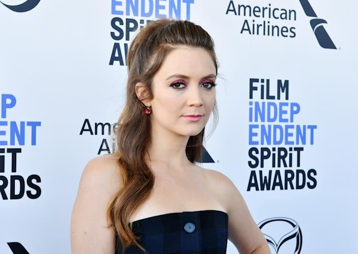 SANTA MONICA, CALIFORNIA - FEBRUARY 08: Billie Lourd attends the 2020 Film Independent Spirit Awards on February 08, 2020 in Santa Monica, California. (Photo by Amy Sussman/Getty Images)